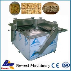 CE approve egg crisp cake cutting machine/cereal bar snack cutting machines