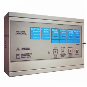 Conventional 1 loop fire alarm control panel