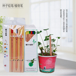 Creative pencils with seeds DIY new exotic toys.