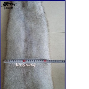 DB005 Excellent Quality Cheap Fox Fur Skins Natural white fox fur in animal fur