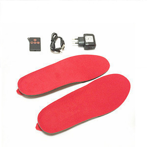EVA Shoes Foot Warmer Electric Rechargeable Battery Heated Insoles with Wireless Remote Control