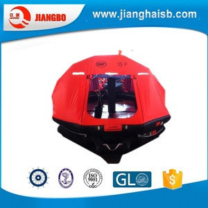 Factory direct sale inflating life raft low price