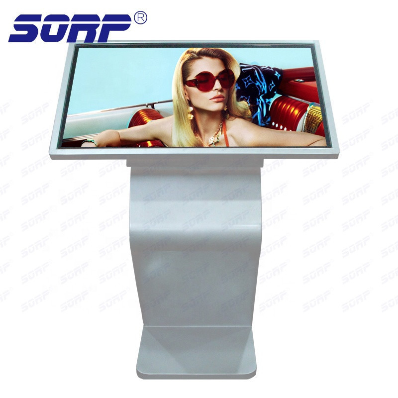 Factory price 42/43/49 Floor standing touch screen digital signage kiosk