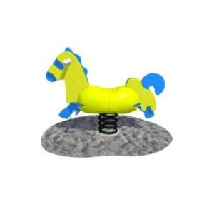 Fast delivery The best kids outdoor spring rocking animals ride toy