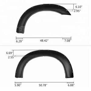 For F250 350 99-07 4x4 fender flares truck fender accessories
