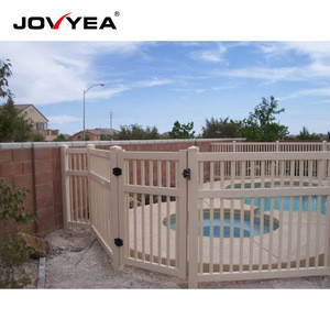 Free Maintenance Uv Protection Temporary Vinyl Pool Fence Gates
