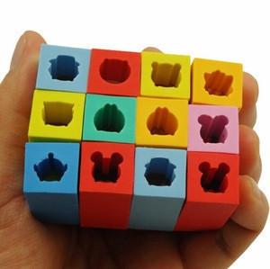 FUNWOOD GQC Creative Shape Pull-out  Carton Animal Eraser