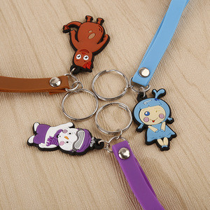 Hello Kitty PVC Mobile Charming/Mobile Phone Strap For Promotion