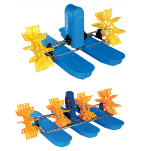 High efficiency floating aerators for aquaculture / impeller aerator
