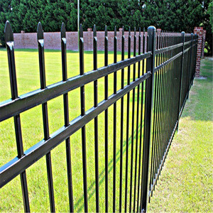 High quality picket fence/Used Wrought Iron Door Gates