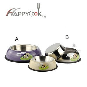 Hot products  stainless steel personalized cat  dog pet bowls feeder