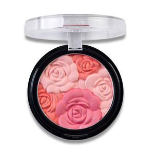 Jiaxi Blush Highlight One Disc Shadow Eye Shadow Three-in-one Natural Petal Blush Female