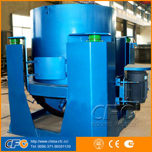 Mining automatic 0.6tph gold concentrator for separation of lead, zinc, tin, tungsten ore