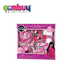 New product indoor play girls toys pretend play makeup with bag