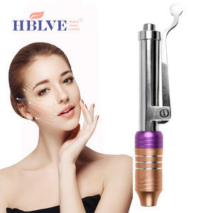New style no needle mesotherapy high pressure lip enlargement hyaluronic acid pen