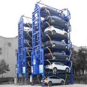 PCX High Efficiency Low Cost Vertical Rotary Residential Buildings Pcs Tower Mechanical Car Smart Parking lift System