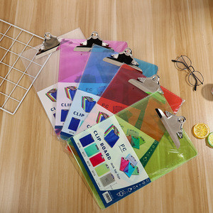 Plastic Clipboards Multi Pack Assorted Colored Clipboard Strong A4 Size Acrylic Clipboards Big Clip Board Clips