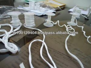 Poly satin & crepe cords