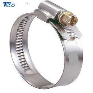 Stainless steel electric pole pipe clamp clamp meter hose clamp