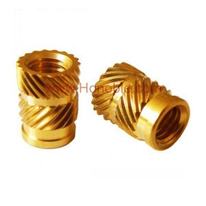 Ultrasonic Threaded Brass Inserts for Plastics