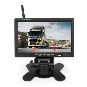 Universal Wireless Monitoring System with 720P Camera & 7 inch Monitor for Bus Truck