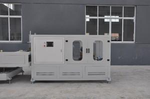 UPVC PP Plastic Pipe Threading Machine