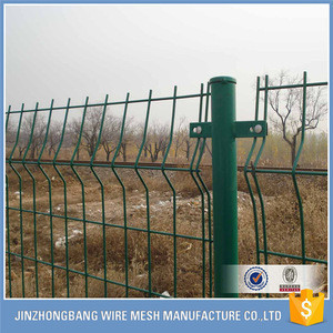 Wire mesh high-tension line fence