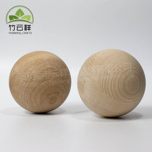 Wooden Round Balls,  Unfinished Wood Round Balls, Hardwood Sphere Orbs For Crafts and DIY Projects, Woodworking