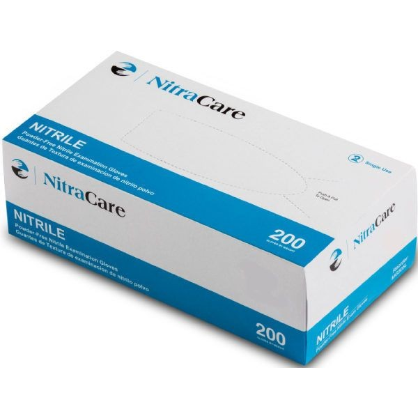 Medglove NitraCare Medium Nitrile Powder-Free Exam Gloves