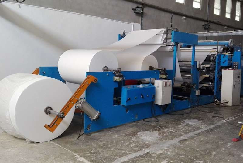 Toilet tissue paper roll making machine/ waste paper recycling equipment