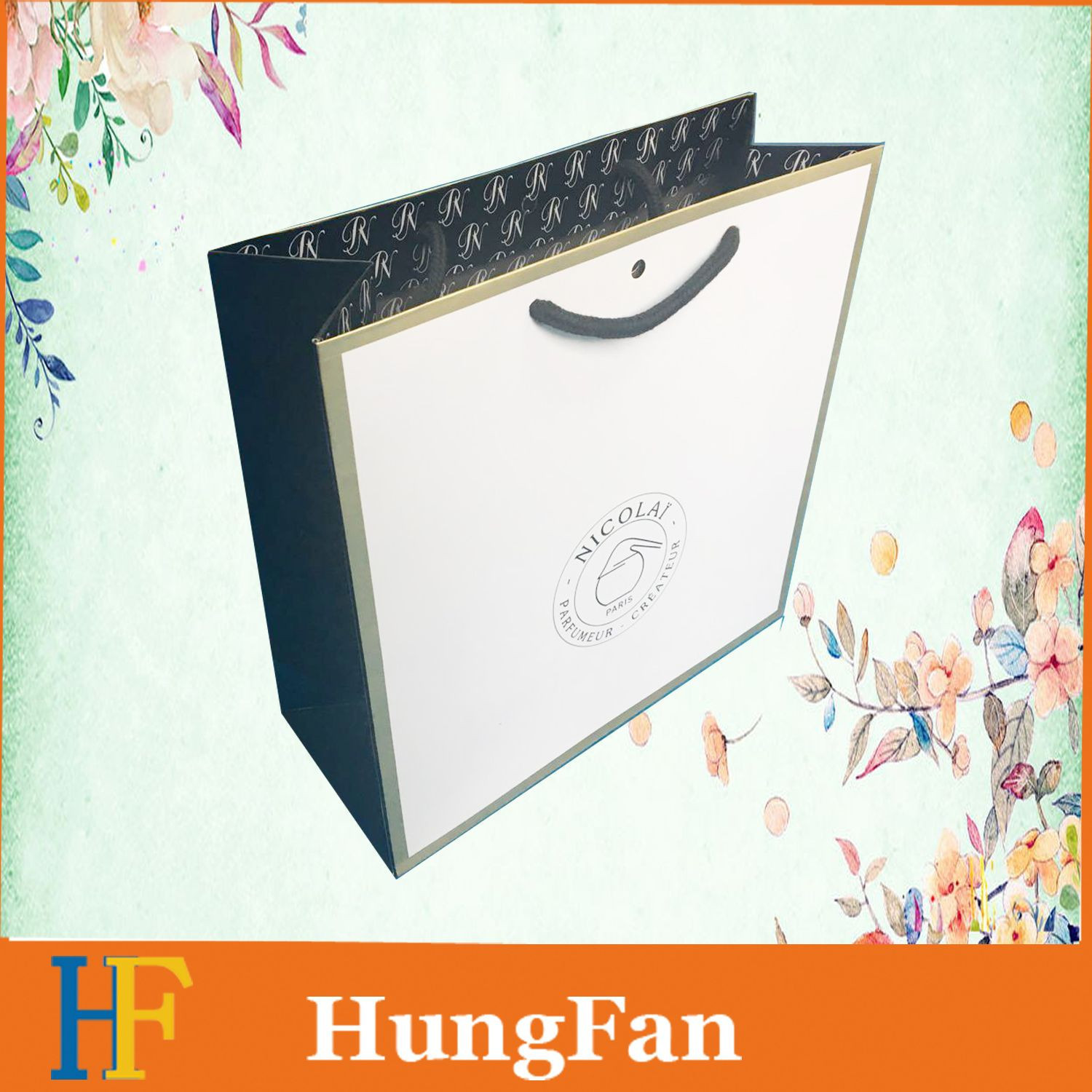China products/suppliers. High Quantity Shopping Paper Bag for Clothing Custom Design Printing High End Paper Bag
