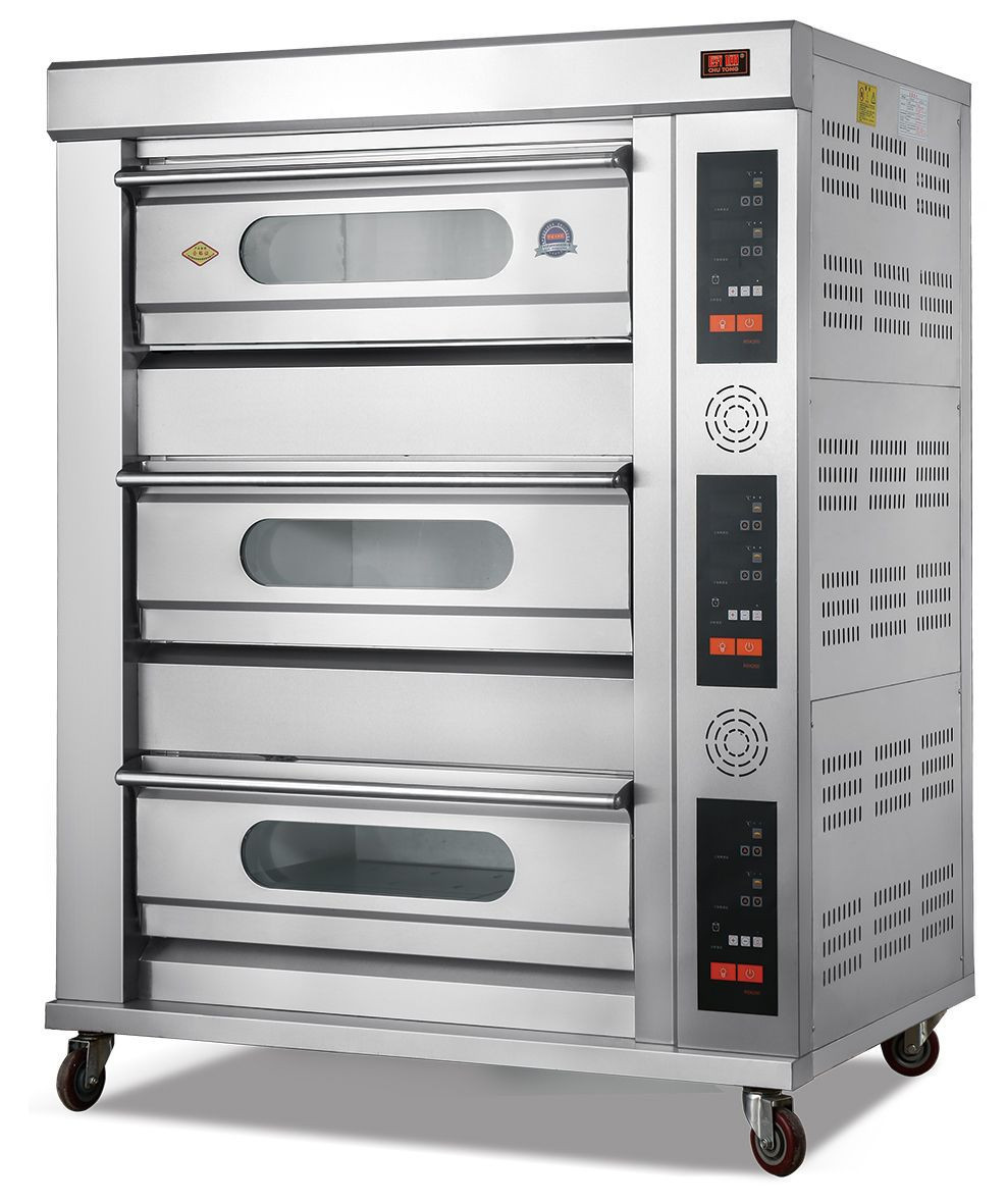Commercial kitchen Gas Electric Pizza Ovens Deck Ovens