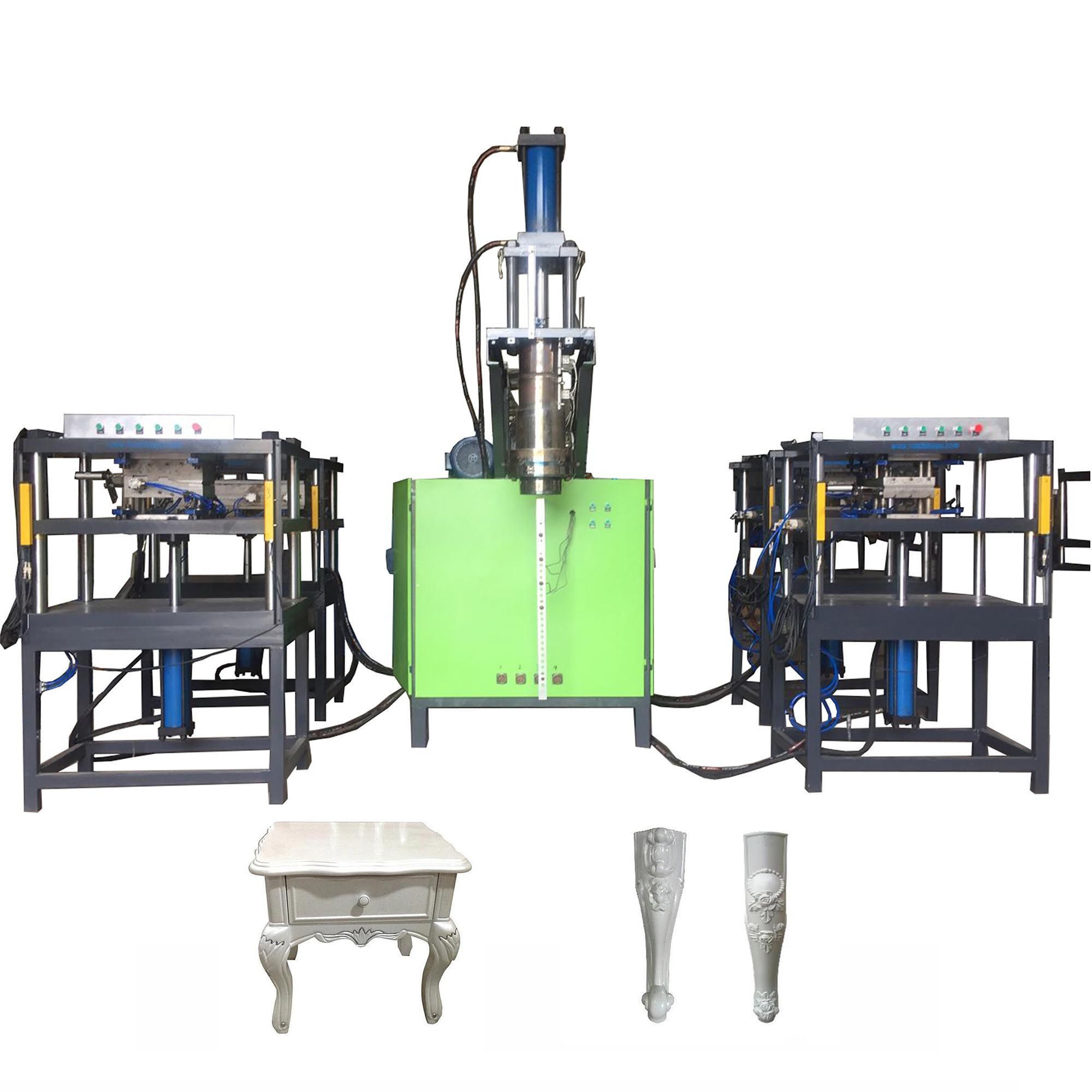 ABS Injection Blow Molding Machine For Plastic Furniture Legs Making