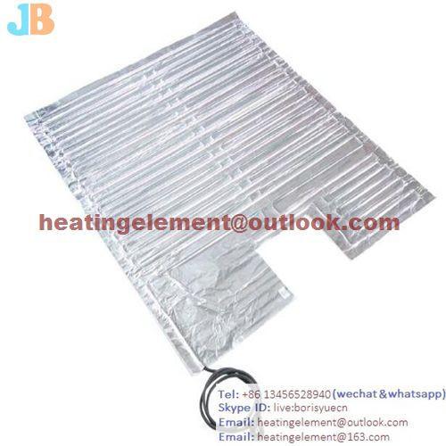 IBC Container Aluminum Foil Heater
