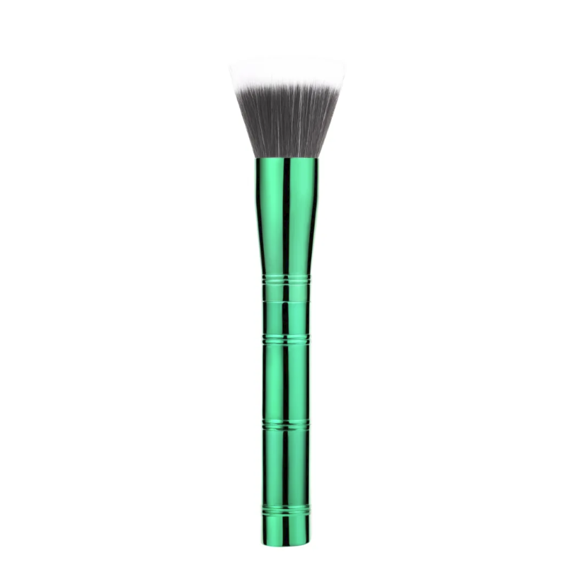 Professional Powder Aluminum handle brush makeup brush with high quality