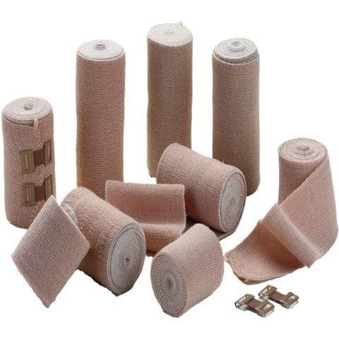 Rubber Elastic Crepe Bandages