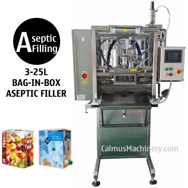 Semi-automatic BIB Aseptic Filling Machine Sterile Products Bag in Box Aseptic Filler