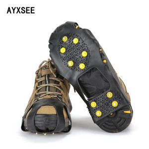 10 studs sports crampons shoes spikes grips outdoor ice crampon tool snow walking crampons