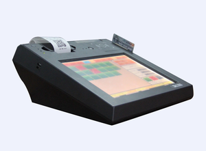 12 inch all in one touch screen bill machine for small business restaurant and mini market