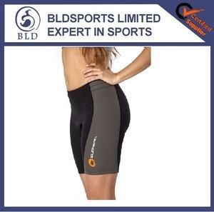 2015 hot sale fashion 1.5mm Nylon Cloth Neoprene Workout Shorts