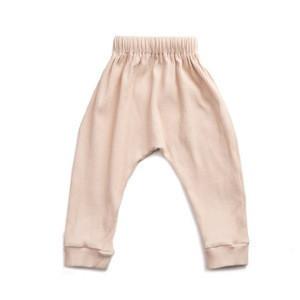 2018 Wholesale Paris Style Baby Plain White Color Coduroy Pants Designed With Drawstring