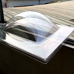 400---2100MM PC  PMMA polycarbonate skylight, double layer dome skylight