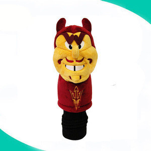 460CC custom golf iron head cover stuffed tiger golf club head cover