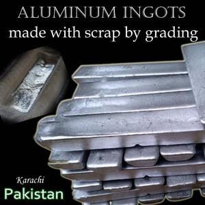 ALUMINUM INGOTS, aluminum scrap ingot, Rust proof Aluminum Ingots - also Aluminum Ingots for Motorcycle Parts