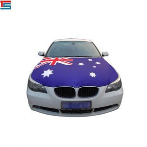 Australia car tank hook cover flag