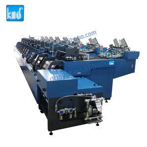 automatic new board book mounting machine,children book glue binding machine post-press production equipment