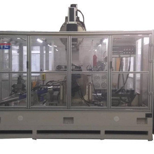 Automotive Electro-hydraulic Recirculating Ball Steering Performance Test Bench
