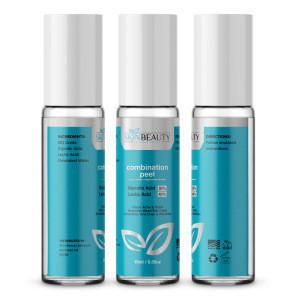 Combination Peel GLYCOLIC 35% / LACTIC Acid 45% Skin Chemical Peel | Alpha Hydroxy Acids (AHA) For Acne, Skin Brightening