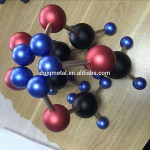 Custom Chemical molecules samples/mass production aluminum cnc machining service