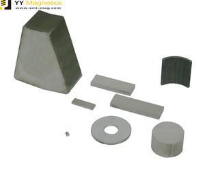 Custom shape strong magnet smco